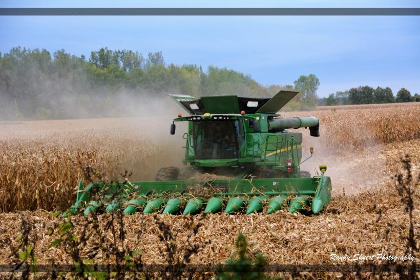 JD Corn Picker